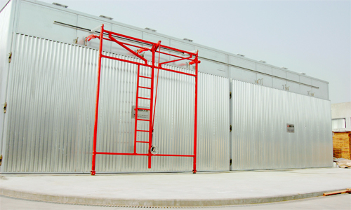 all aluminum wood drying kiln